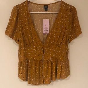 NWT Wild Fable blouse